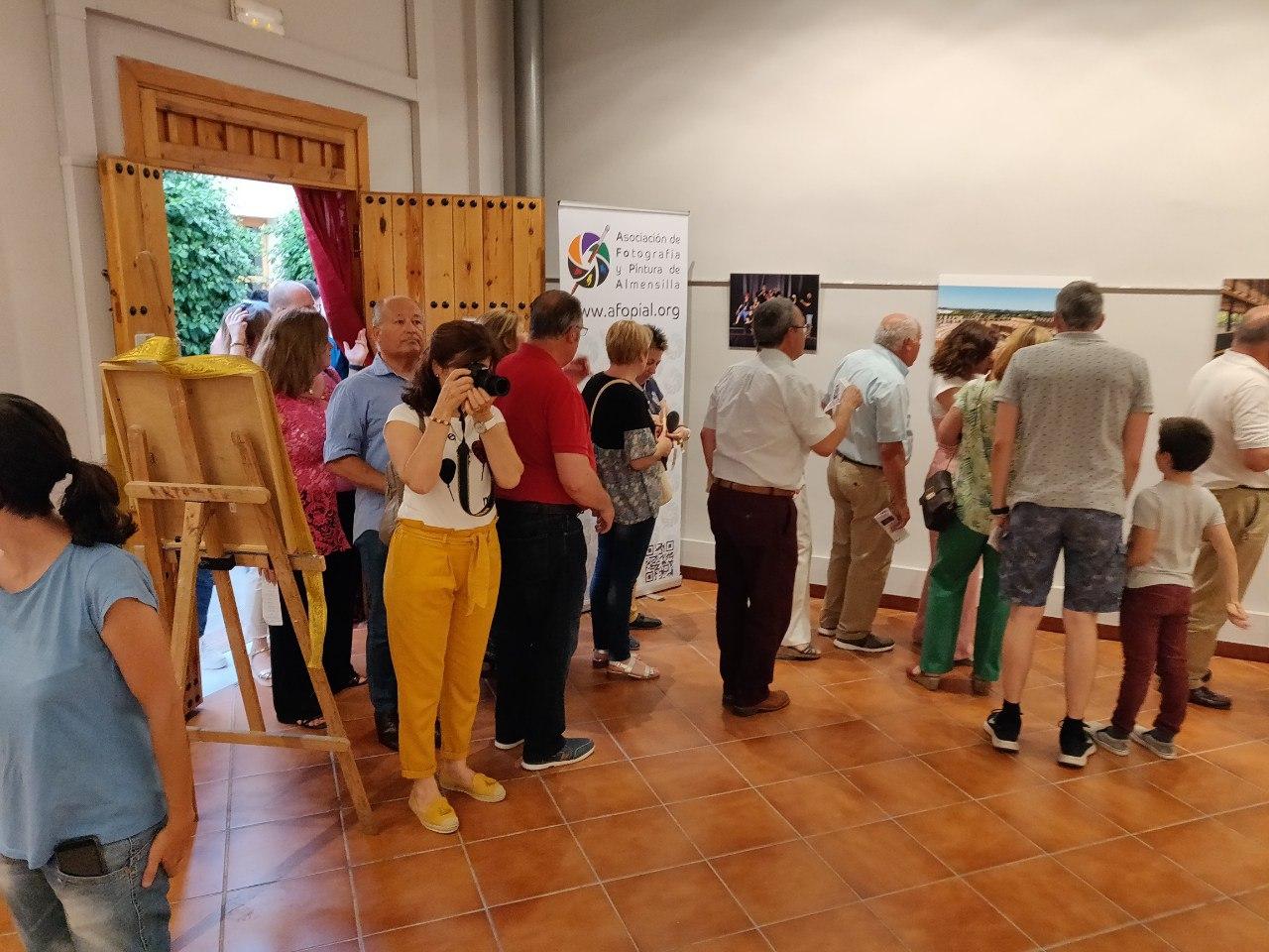 """Inauguración exposición """"Entre actos"""" de AFOPIAL."""